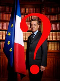 Nicolas Sarkozy Président point interrogation