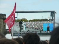 Meeting Francois Hollande Chateau Vincennes