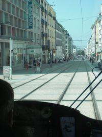 Tram rue JJaurès
