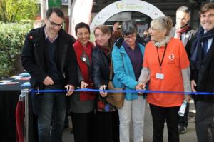 Inauguration Train du climat Brest