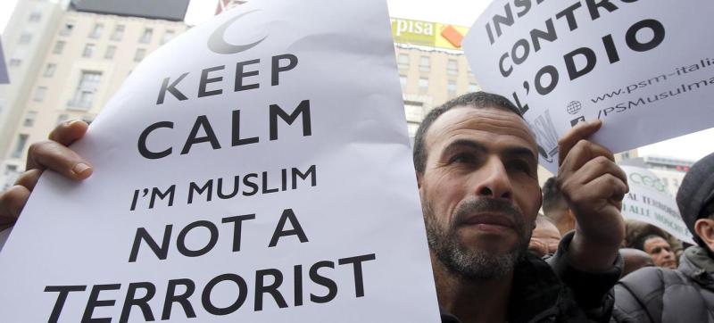 Keep calm I m muslim not a terrorist